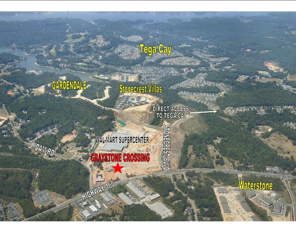 Tega Cay New Wal-Mart and Stonecrest Development Status