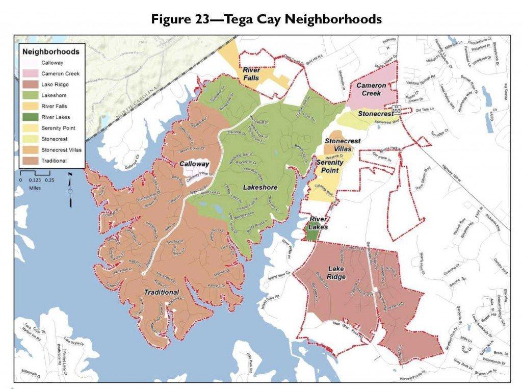 Tega-Cay-Neighborhoods-Map