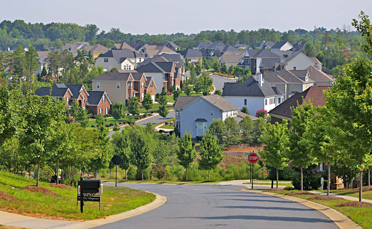 Lake Shore Subdivision Summer