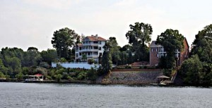 Tega Cay Lake Front Homes