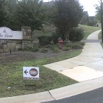 Who Is Obeying The Tega Cay Sign Ordinance That Bans Real Estate Directional Signs?
