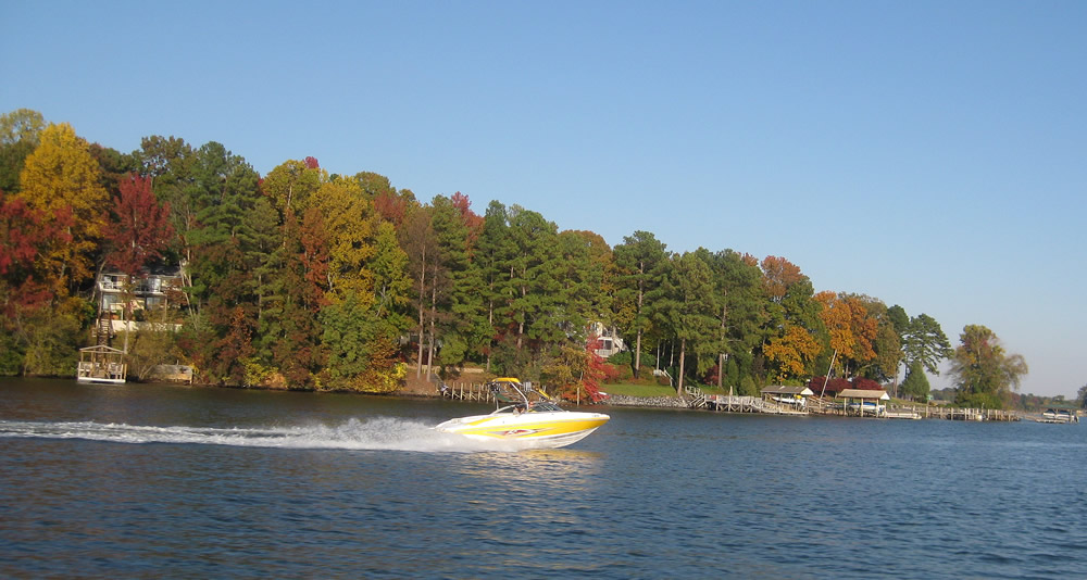 Here Comes Fall On Lake Wylie