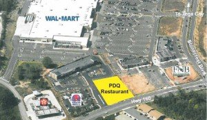 What is The PDQ Fresh Food Fast (Tenders) Restaurant in Tega Cay?