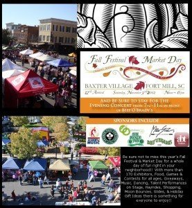 Reminder – Saturday is the Baxter Village Fall Festival