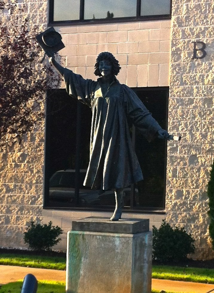 Fort Mill School District Statue