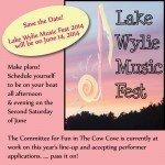 Lake Wylie Music Fest June 14 2014
