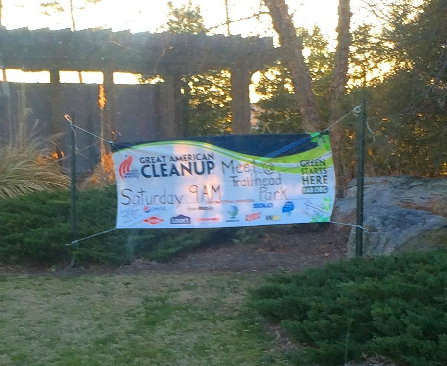 Tega Cay Spring Clean up Banner