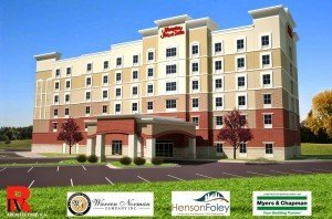A New Hampton Inn Is Under Construction in Fort Mill