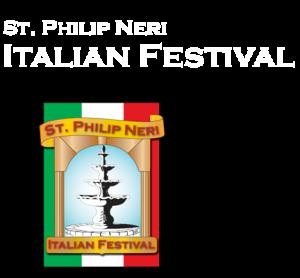Saint Philip Neri Italian Festival logo