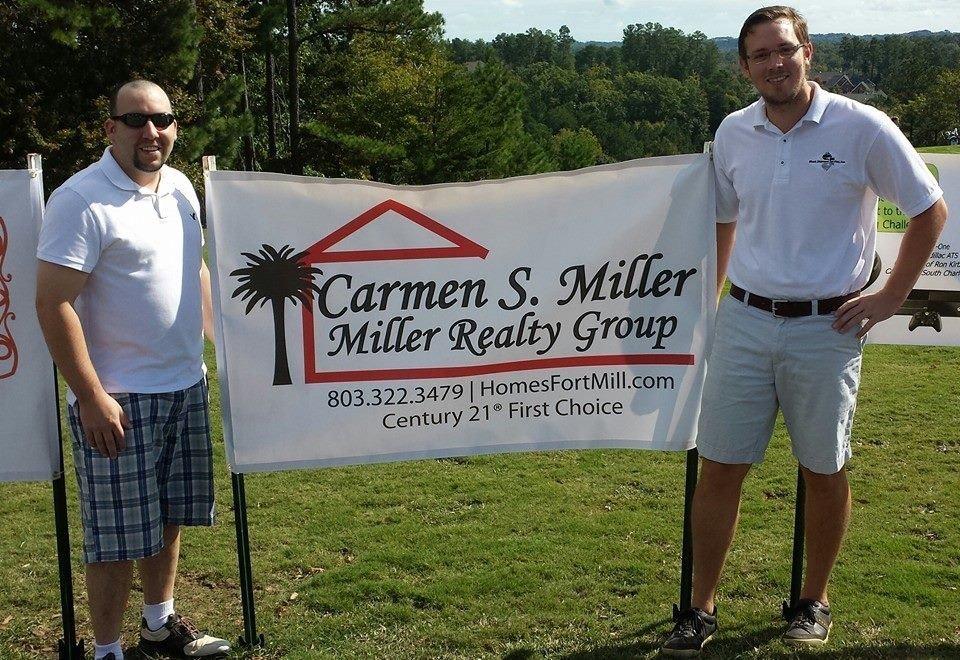 GEMS Golf Sponsor Banner