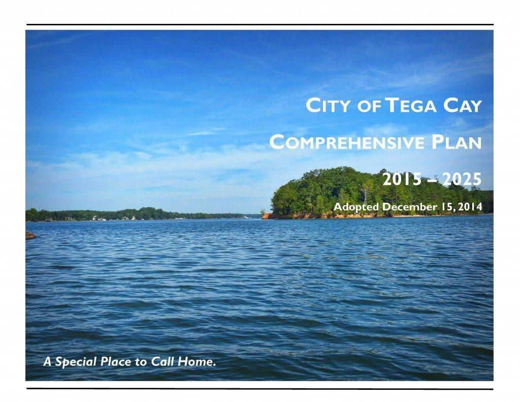 Tega Cay Comprehensive Plan Dec 2014 Cover