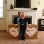 Twins Gender Reveal Video