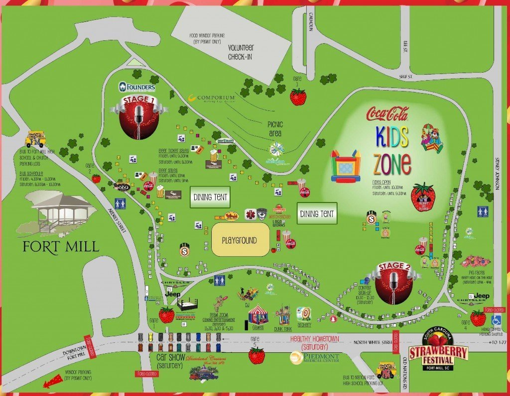 2015 Fort Mill Strawberry Festival Map_1