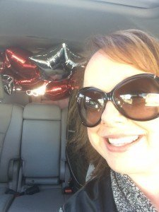 Open House signs always go better with mylar balloons from the Dollar Store...and they've got the best deals!