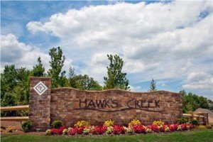 hawk's creek sign