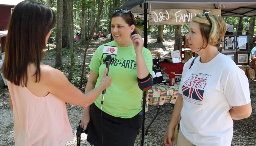 Patti interviews Melanie