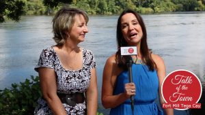 Sheila and Patti on Talk of the Town