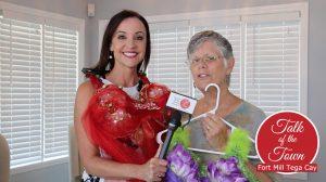 The Tega Cay Women's Club Vote For The Best Mardi Bra