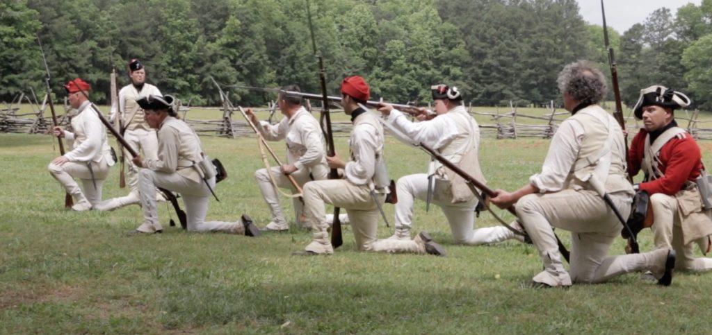 Brattonsville Reenactment formation