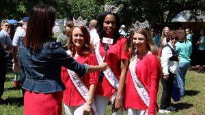 strawberry queen interviews sc strawberry festival