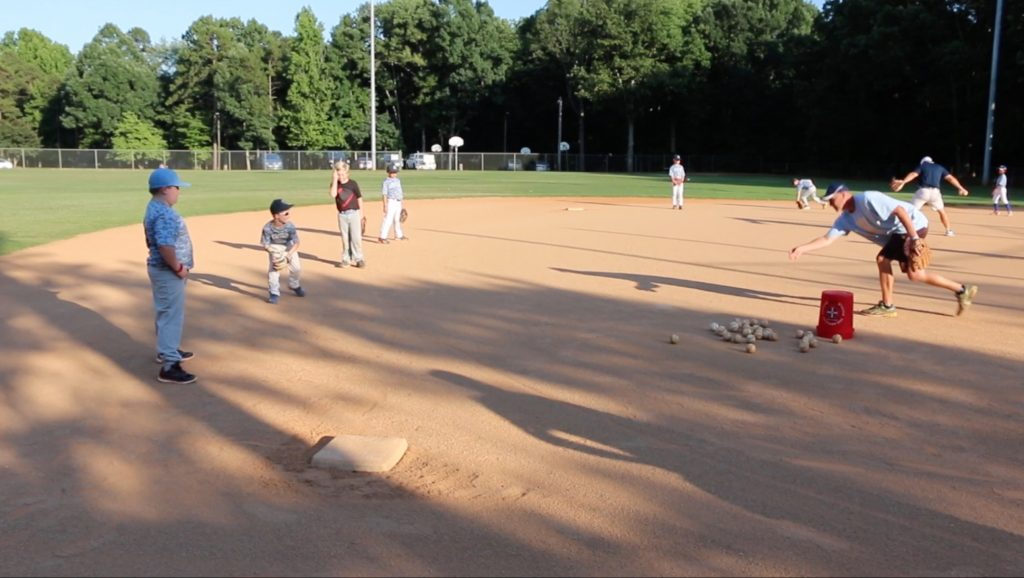 Tega Cay Little League Columbia Team Practice