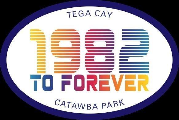 1982 forever catawba park sticker