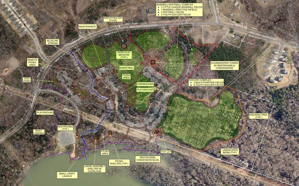 Catawba Park Site Plan