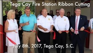 See Tega Cay's New Fire Station
