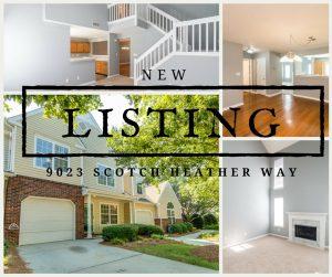 New Listing ~ $200,000 ~ 9023 Heather Scotch Way, Charlotte NC, 28277