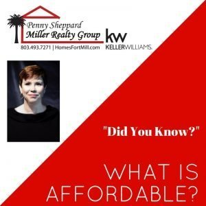 Did You Know ~ What Is Affordability ~ By Penny Sheppard