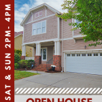 OPEN HOUSE ~ SAT & SUN 9/2 – 9/3 ~ 2PM – 4PM ~ 7570 THORN CREEK LANE, TEGA CAY SC, 29708