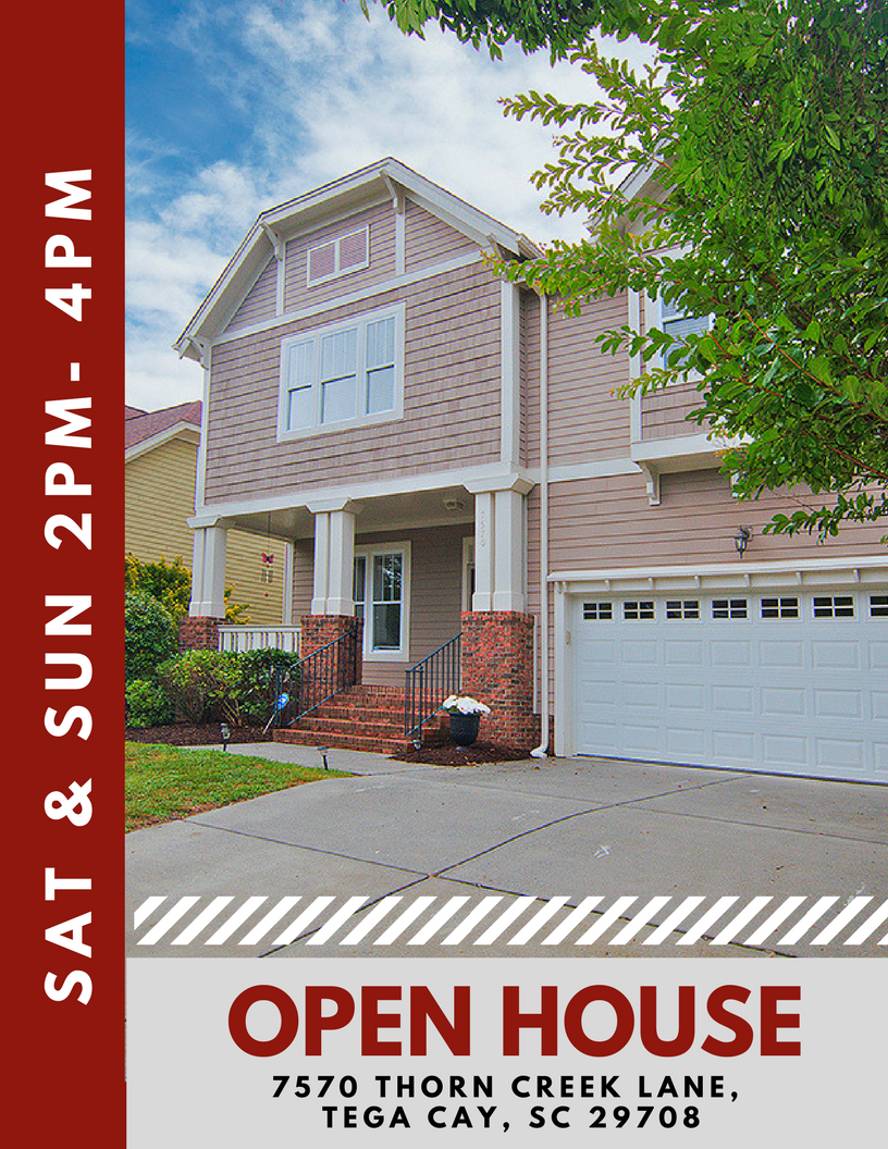 7570 Thorn Creek Lane, Tega Cay SC  open house