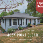 Open House ~ Sunday 8/13 ~ 1 PM – 3 PM ~ 4054 Point Clear Drive, Tega Cay SC 29708