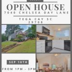 SUNDAY OPEN HOUSE ~ 9/10 FROM 1-3 ~	7040 Chelsea Day Lane, Tega Cay SC 29708 ~ $262,500