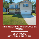New Listing ~ Open House ~ Sat/Sun ~ 1 PM – 3 PM ~ 941 Capetown Lane, Clover SC 29710