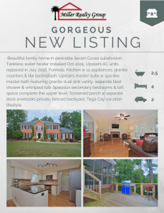 OUR NEW LISTING IS HOLDING AN OPEN HOUSE ~11093 SEVEN COVES DRIVE, TEGA CAY SC. 29708