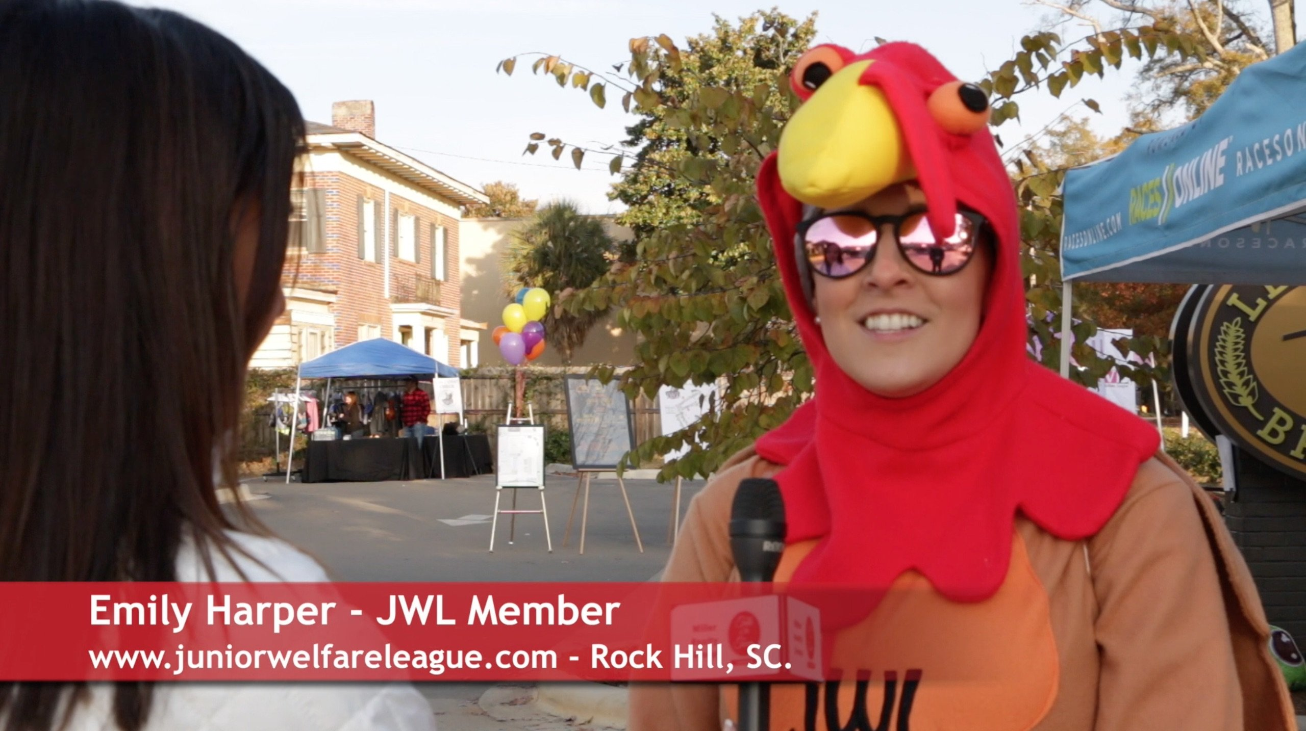 See The Junior Welfare League's Gobble Wobble Fundraiser
