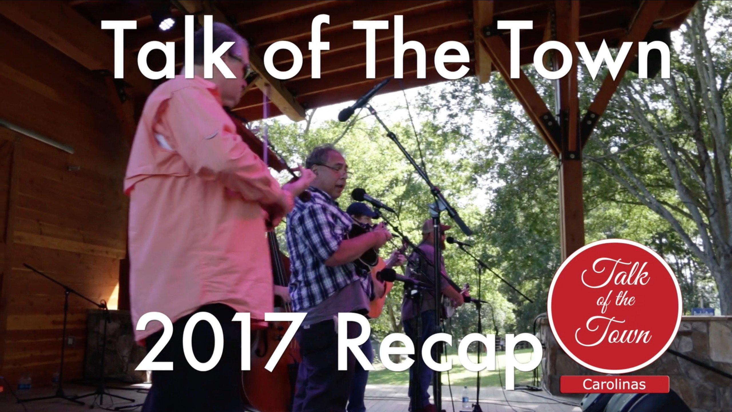 Talk of the Town Carolinas 2017 Recap