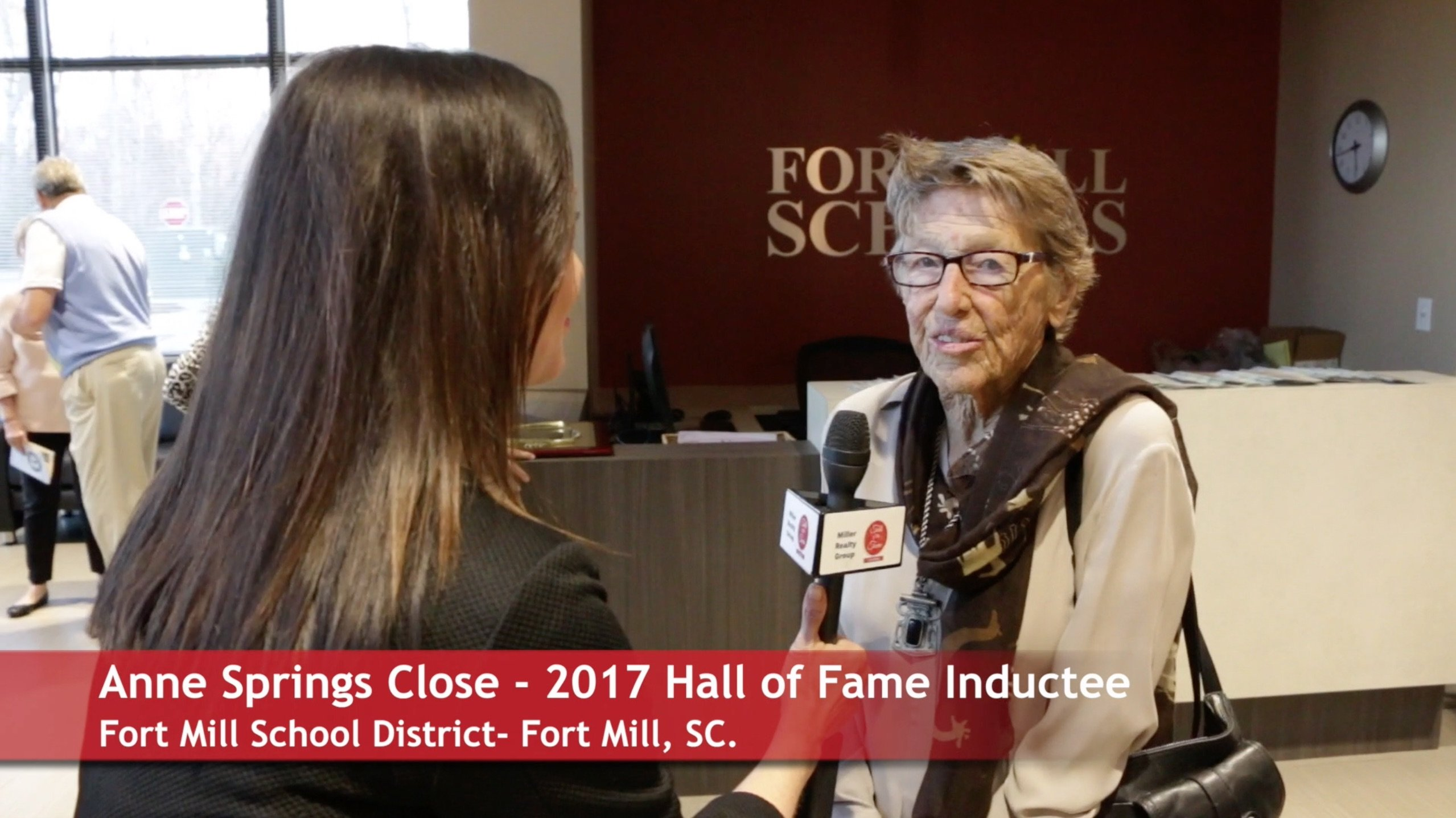 Fort Mill Schools Induct 5 People To THE 2017 Hall of Fame