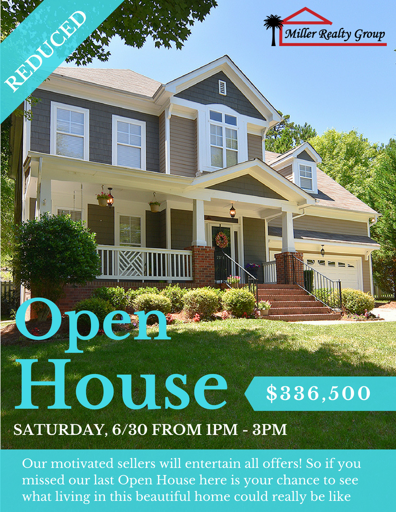 Now $336,000 ~ 	7336 Cascading Pines Drive, Tega Cay SC 29708 ~ Open House Sat, 1PM – 3PM