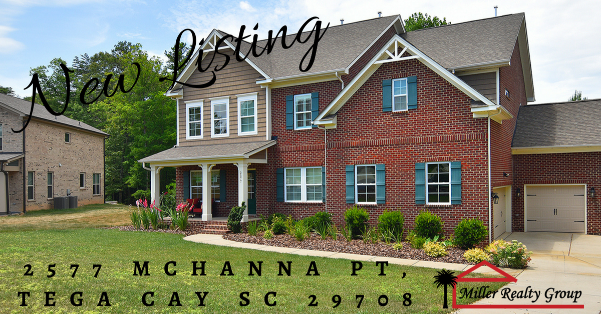 New Listing! 2577 Mchanna Point, Tega Cay SC 29708