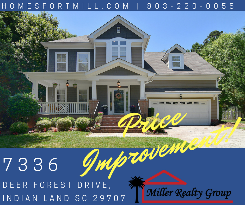 Open House! 7336 Cascading Pines, Tega Cay SC, 29708 ~ Price Improvement!