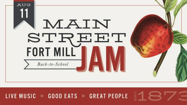2nd Fort Mill Main Street Jam August 11th