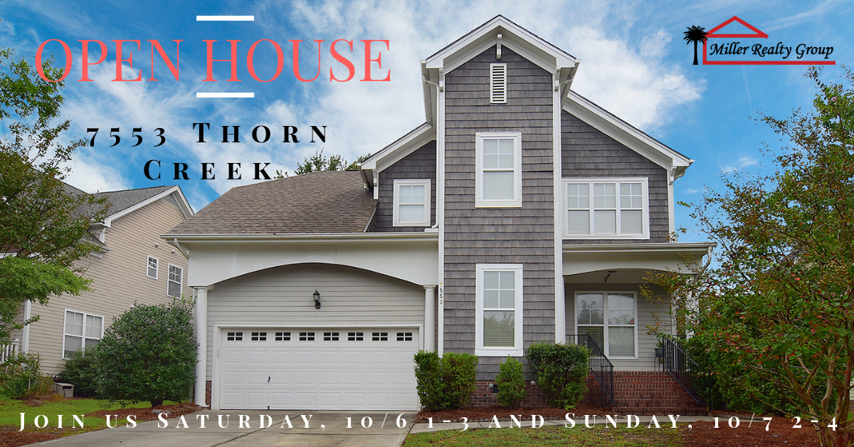 Join Us This Saturday, 10/6 ~ 1-3 and Sunday, 10/7 ~ 2-4 At 7553 Thorn Creek