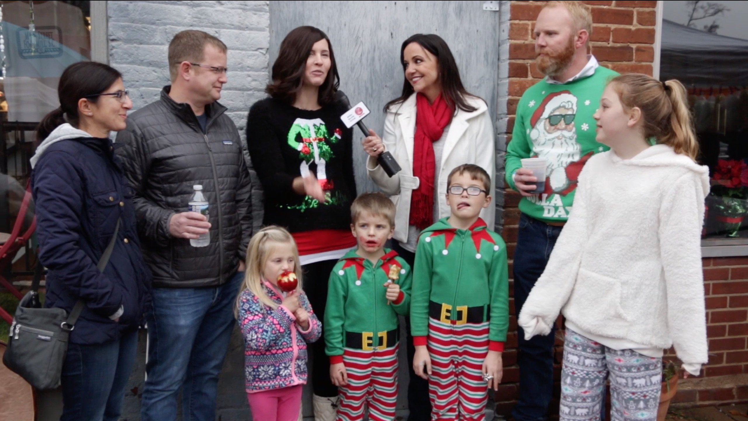 Jingle Jam Main Street Fort Mill crowd