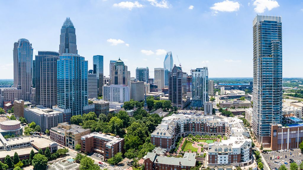 Charlotte Downtown Skyline