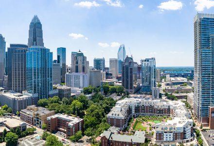 Charlotte Downtown Skyline